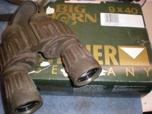 Details about Steiner military mariine Big Horn 9x40 Binoculars