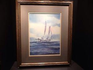 Details about �Steve Bleinberger Signed and Framed
