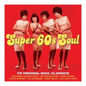 Details about �SUPER 60s SOUL 75 Sixties Songs MARVIN
