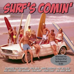 Details about �SURF'S COMIN 60 Classic Surf Rock Songs