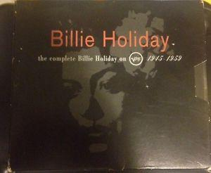 Details about �The Complete BILLIE HOLIDAY On VERVE