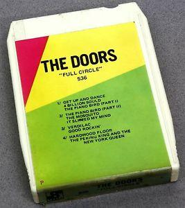 Details about �THE DOORS FULL CIRCLE 8 TRACK 536