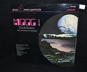 Details about �ThriftCHI ~ 33 1/3 Record Moog! Claude