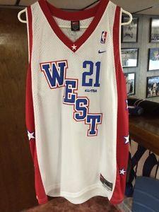 hot sale online 38ff0 ac657 Details about  Tim Duncan NBA ALL Star Jersey Nike Mens XL ...