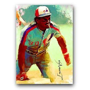 Details about �Tim Raines Sketch Card Limited 3/5