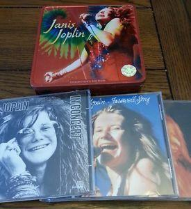 Details about �used Janis Joplin Collector's Ed 3 CD