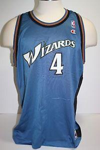 finest selection fe667 7aa88 Details about  Vintage 90's Washington Wizards Jersey Chris ...
