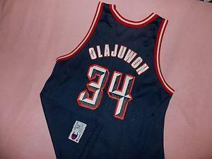 d52d25bba Details about  Vintage Champion Hakeem Olajuwon Houston Rockets NBA ...