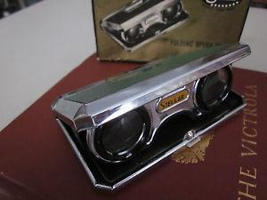 Details about Vintage Stellar Folding Opera Glasses Original Box Adjustable x 2.5 C. 1950s