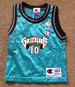 c9162ccc3 Details about  Vintage Toddlers NBA Vancouver Grizzlies Mike Bibby ...