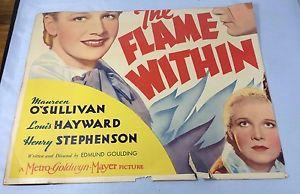 Details about �Vtg. 1935 The Flame Within MAUREEN