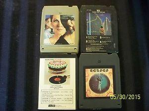 Details about Vtg 8 track tapes lot of 4 Stones Styx Yes Kansas Very Nice