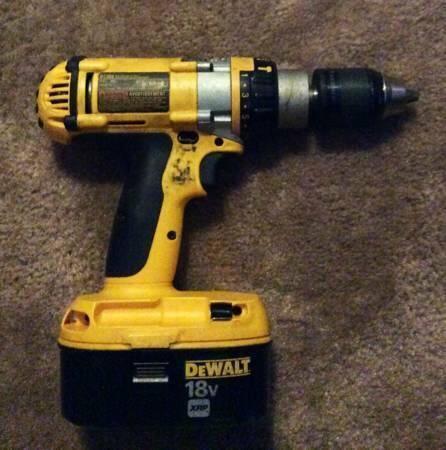 DeWalt 18 Volt XRP Hammer Drill