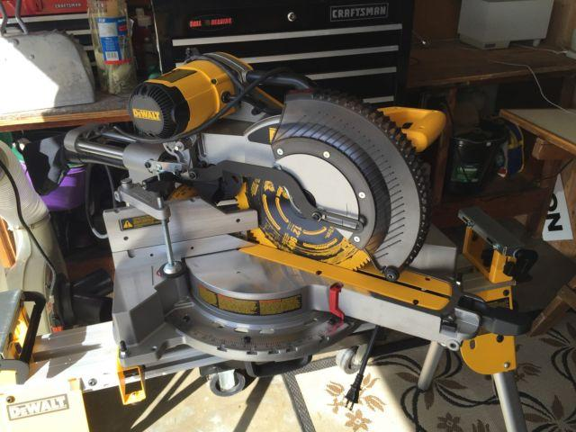 DeWalt 780 Saw,Stand, Jet 1100vc Dust Collector