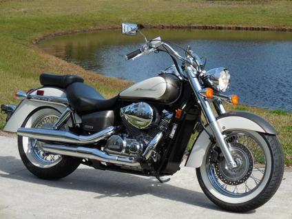 dfgh 2009 Honda Shadow 750 Aero Only 2k Miles Beautiful
