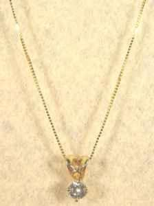 Diamond Necklace - $125 (Springfield, MO)