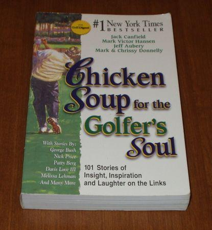 ♦ 3 CHICKEN SOUP Books - Parent's, Golfer's & the