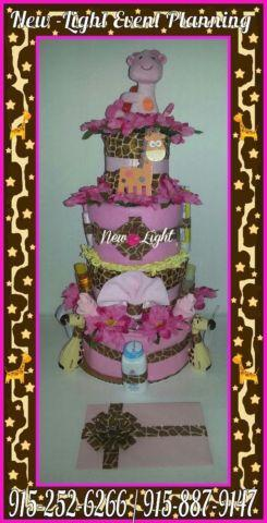 Diaper Cakes and Corsages 4 Sale