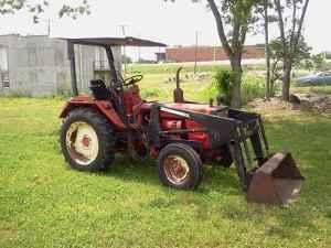 Diesel Tractor With Front End Loader Lewisburg