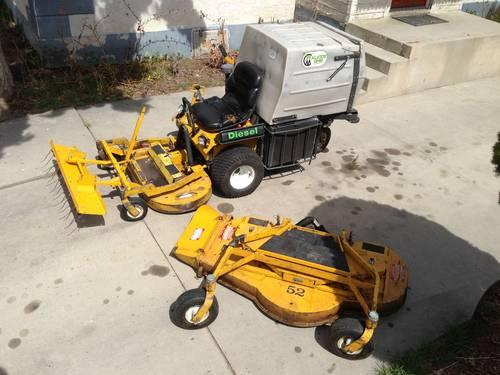 Diesel Walker Mower MDD GHS 42