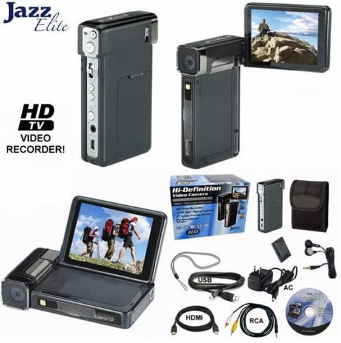 digital camcorder jazz elite hi definition video camera hdv188 for sale in horton alabama. Black Bedroom Furniture Sets. Home Design Ideas