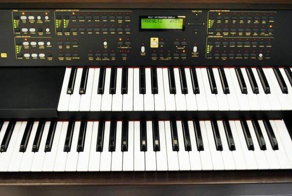 ♫~♫ Digital Piano Keyboard Hammond Organ XJ 100 - $1