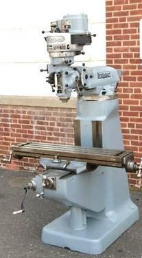 Digital READOUTBRIDGEPORT MILLING MACHINE 1 HP