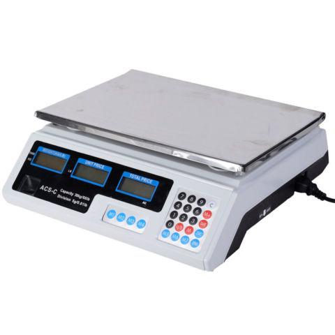Digital Weight Scale Price Computing Retail Food Scales