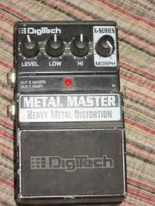 DigiTech Metal Masher Pedal - $80 (Rio Rancho)