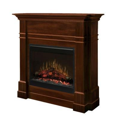 Dimplex Colton 48 in. Electric Fireplace in Walnut