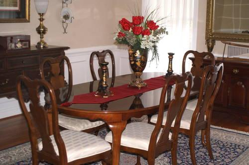Solid Cherry Dining Room Set - Decor