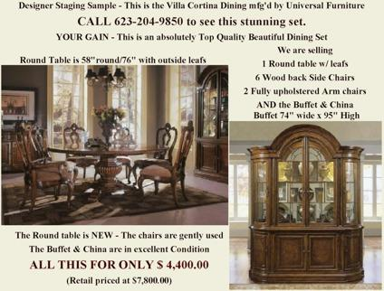 Dining Room Set Tuscan For Sale In Glendale Arizona