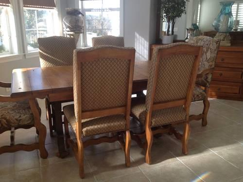 dining room table 6 chairs for sale in san clemente