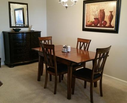 Dining Room Furniture Table And 4 Chairs Chest And 2