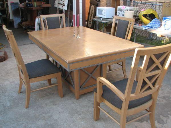 Dining Room Table 4 Chairs Galveston For Sale In