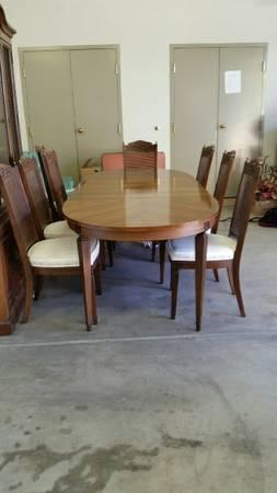 Dining room table set with hutch for sale in kingsley for Dining room hutch for sale