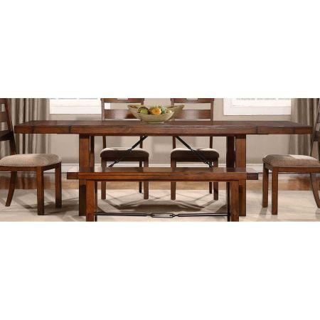 dining table 4 chairs bench with restoration hardware look birch