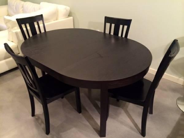 Dining table and chairs for sale in austin texas
