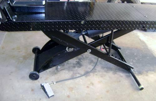 Direct Lift Pro Cycle Dt Motorcycle Table Air Lift For