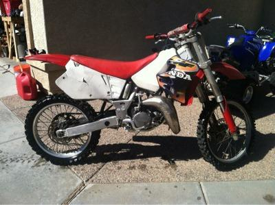 Dirt bike 96 CR125