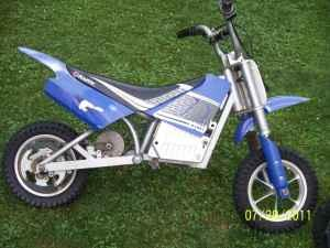 dirt bike razor electric powered reeders pa for sale in allentown pennsylvania classified. Black Bedroom Furniture Sets. Home Design Ideas