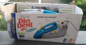 Dirt Devil Spot Scrubber Carpet Upholstery Cleaner Dayton Oh For