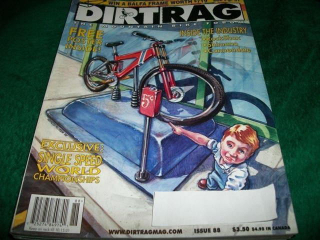 Dirt Rag #88August 15,2001,Cannondale Jekyll 600 ,On