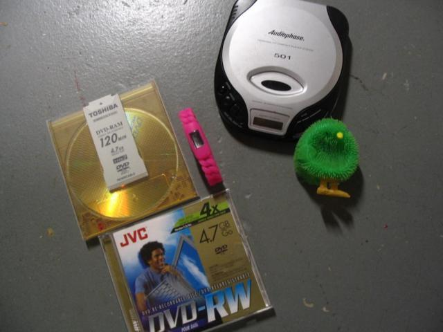 Discman, Watch, Lighted Chick - (Sterling 20164)
