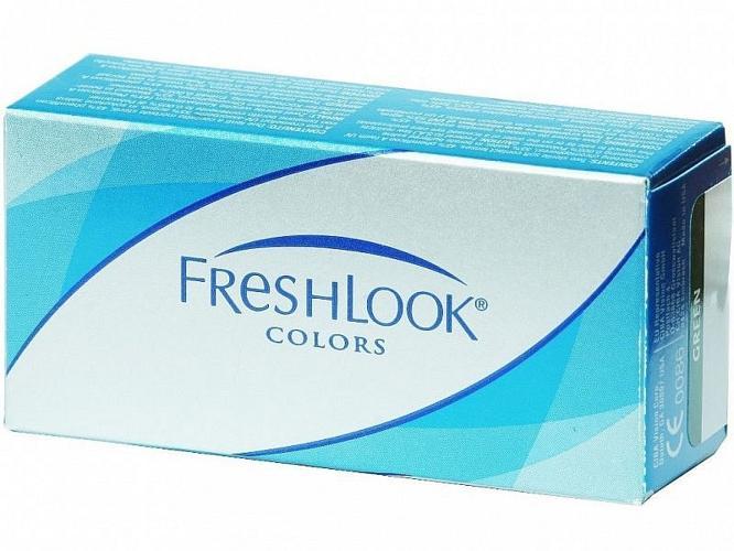 Цветные контактные линзы freshlook