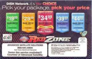 Dish Network TV - HD 200 Channels - $35 Nation Wide