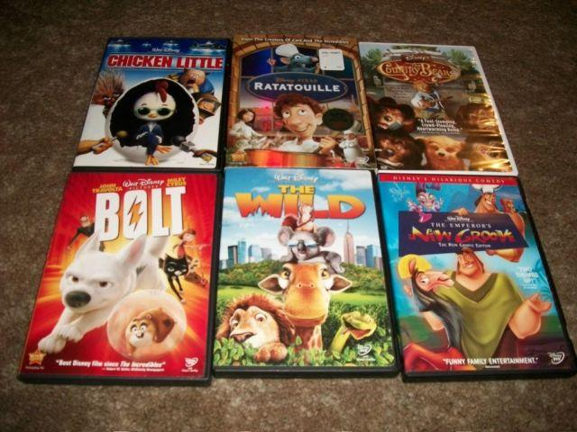Disney DVDs lot of 6 movies