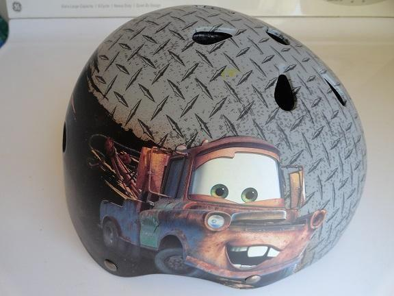 Disney/Pixar Tow Mater Skateboard Helmet / Child / Kids