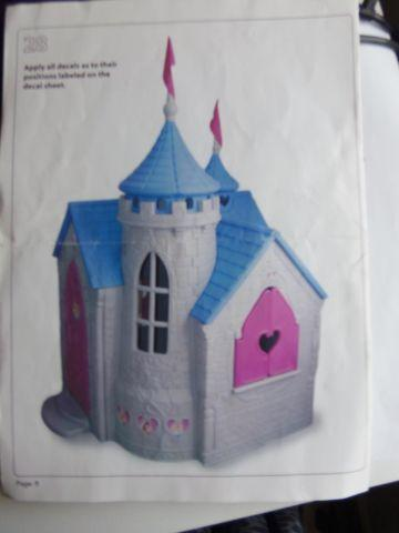 Disney Princess Fairy Tale Castle Indoor Outdoor Playhouse