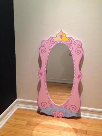 Disney Princess Mirror Used For Sale In Allendale New